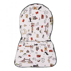 Купить Подушка для стула со спинкой bk