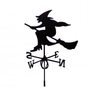 """Купить Флюгер """"Ведьма"""" + крепление bk"""