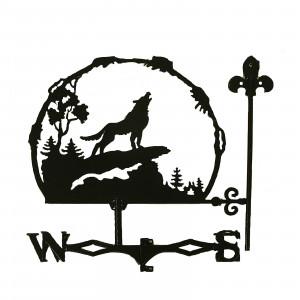 """Купить Флюгер """"Воющий волк"""" bk"""