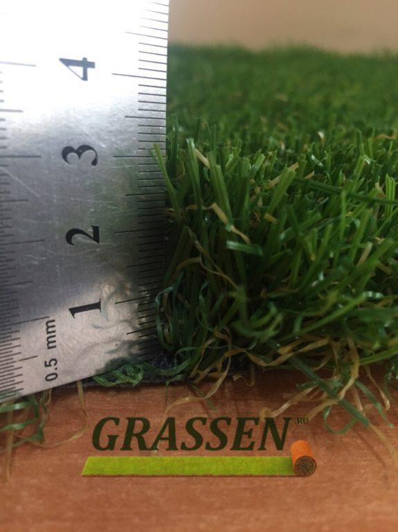 Ландшафтный искусственный газон Lux (Люкс) 30 мм 1