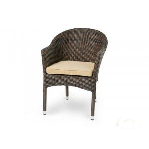 Купить Плетеное кресло WARSAW темно-коричневое bk