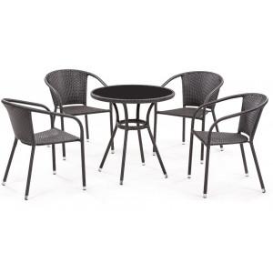 Купить Набор мебели «Кафе» 4+1 bk
