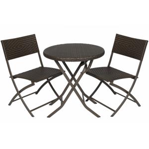 Купить Набор складной мебели «Романтика» (круглый стол) bk