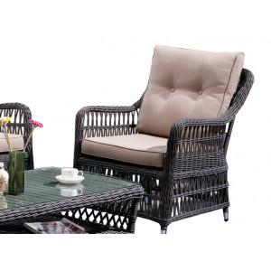 Купить Плетеное кресло CANNES bk