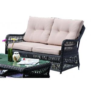 Купить Плетеный диван CANNES bk