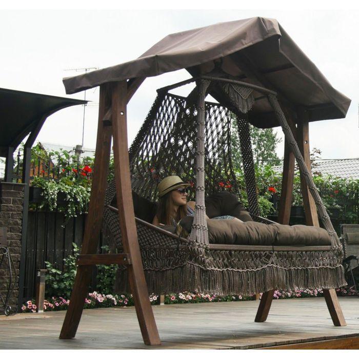 Купить Деревянный с крышей каркас КАРАВЕЛЛА ( для качелей СЕАРА) в Крыму.