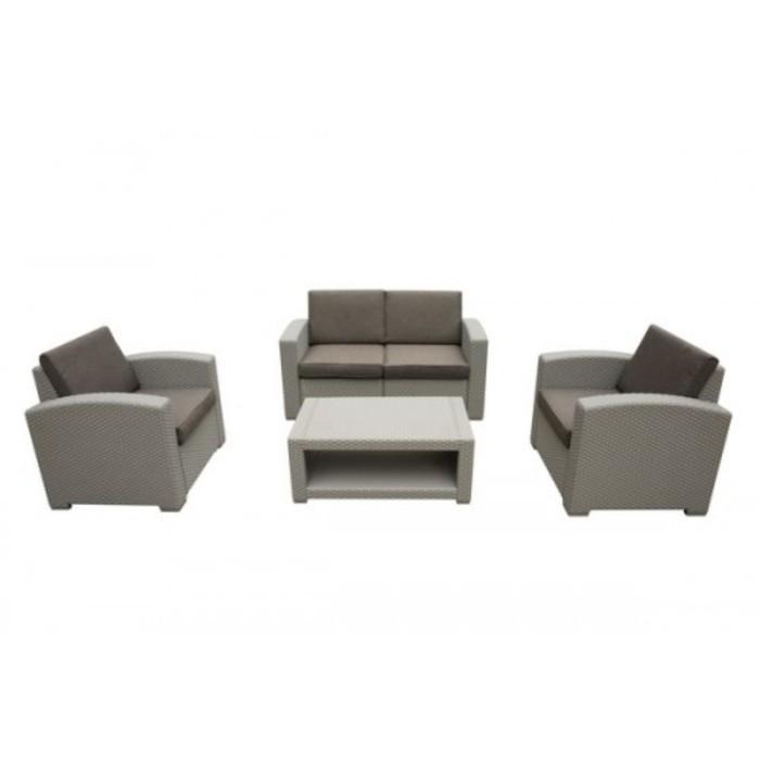 Комплект мебели с диваном AFM-2017G Light grey