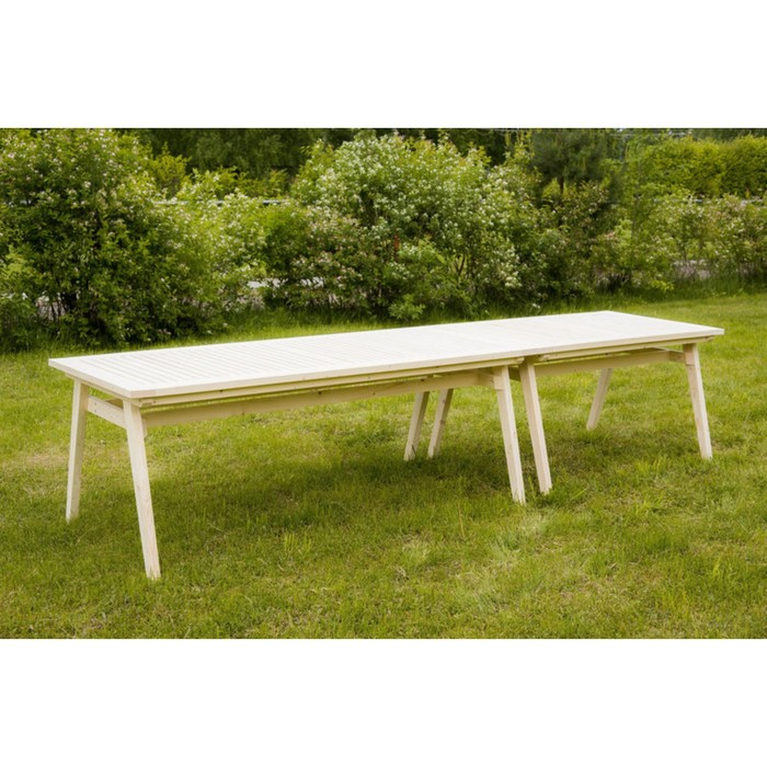 Набор мебели, 13 предметов: 12 кресел, стол - 3.4 м, дерево