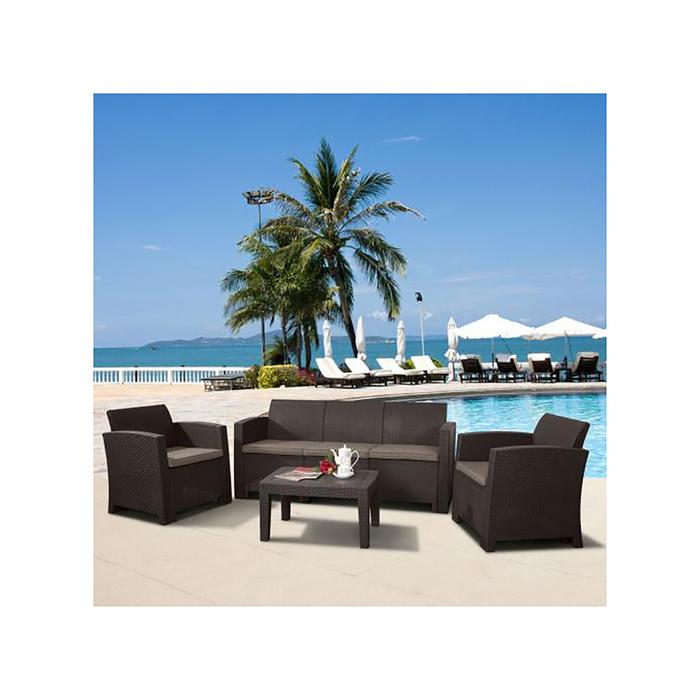 Комплект мебели для отдыха с диваном