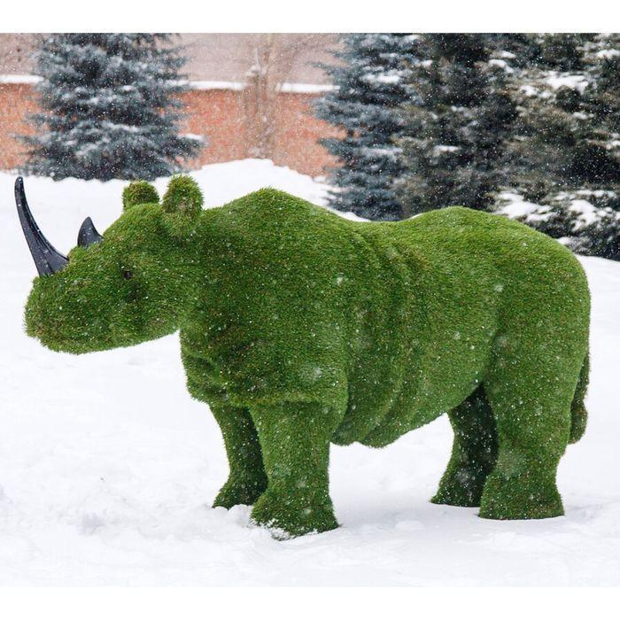 """Топиар-фигура """"Носорог 2"""""""
