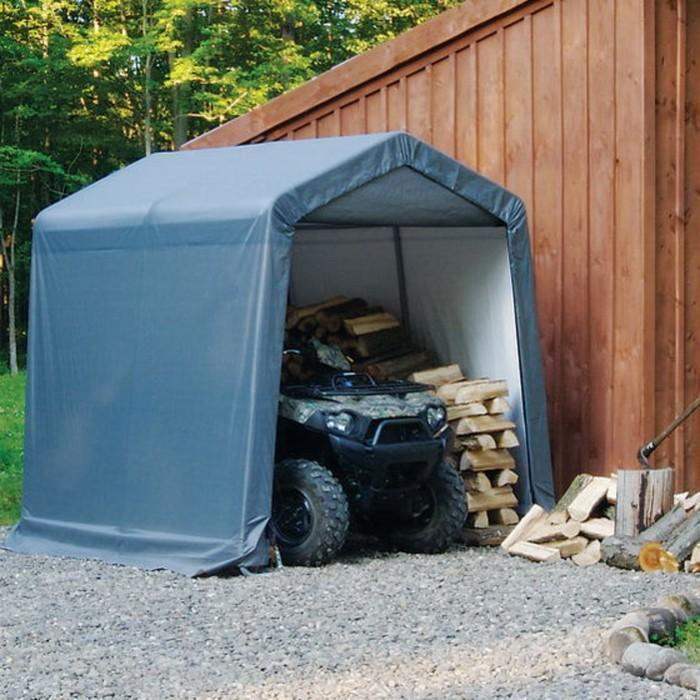 Быстровозводимый Сарай Shelterlogic, 1.8 × 3 × 2 м, скатная крыша, в коробке