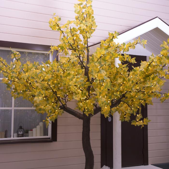 """Дерево светодиодное улич. 3 м. """"Клён Королевский"""" 960 Led, 60 W, 220V Желтый"""
