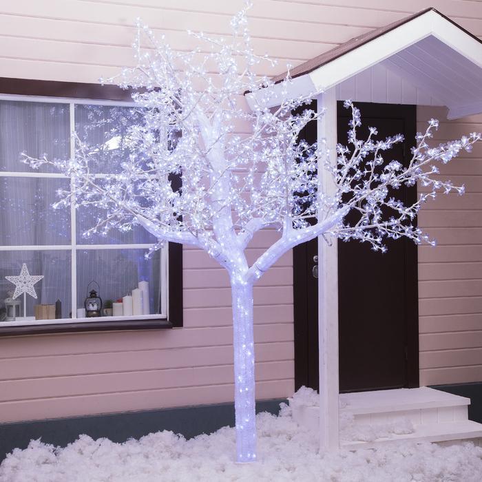 """Дерево светодиодное улич. 3 м. """"Акриловое"""" 2304 Led, 140 W, 220V Белый"""