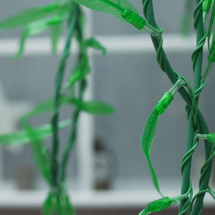"""Дерево светодиодное улич. 2,5 м. """"Плакучая Ива"""" 1728Led, 103W, 220V Зеленый"""