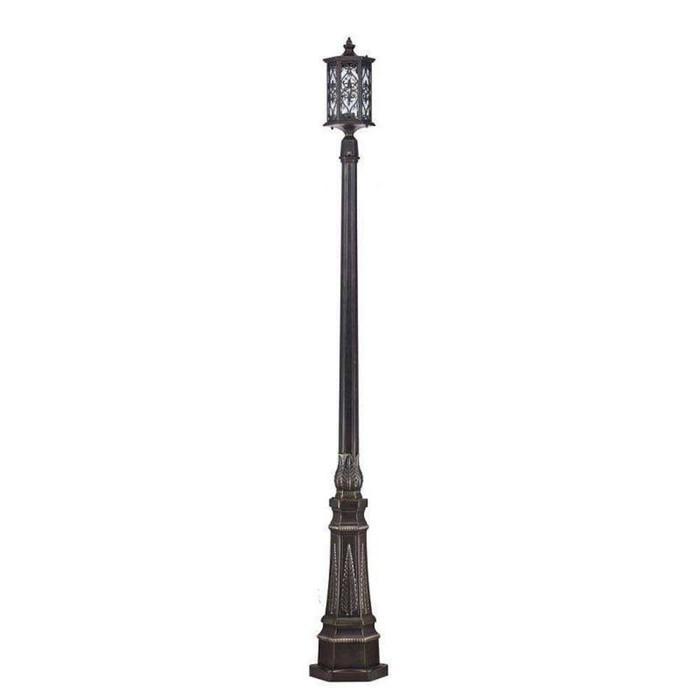 Светильник Canal Grande, E27, 100 Вт, IP44, цвет бронза