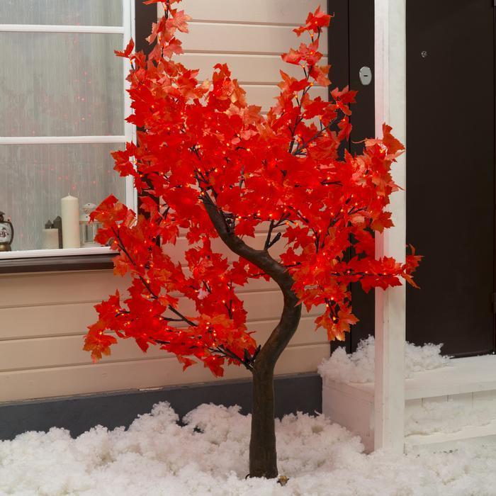 """Дерево светодиодное улич. 1,8 м. """"Клён Канадский"""" 384 Led, 23 W, 220V Красный"""