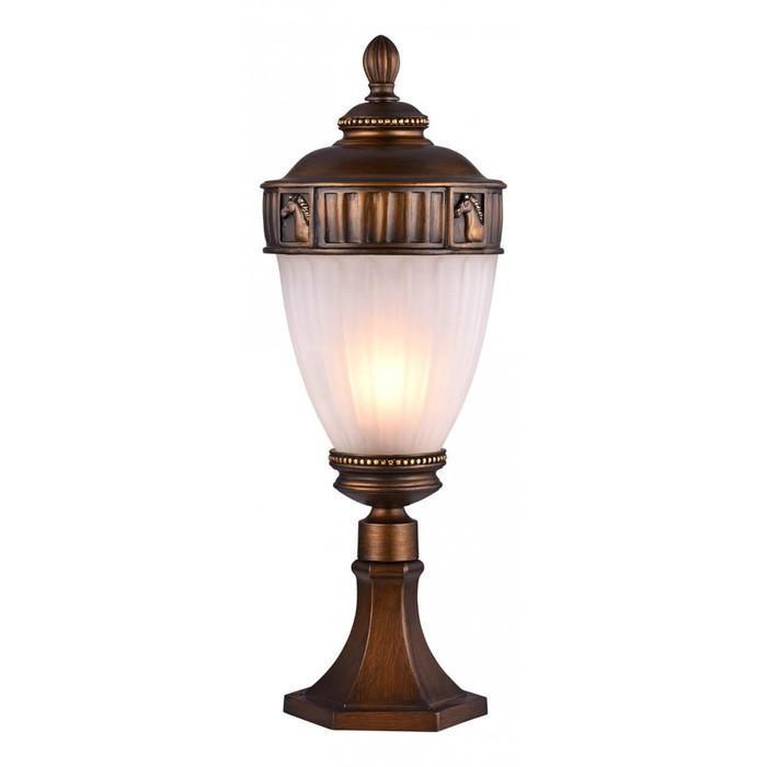 Светильник 1335-1T, E27, 60 Вт, IP44, цвет тёмно-коричневый