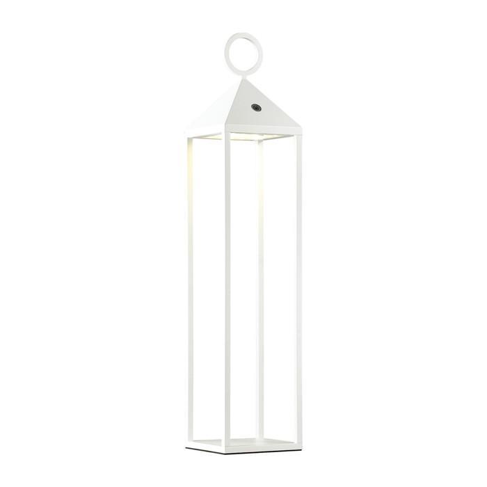 Уличный переносной светильник YORK, 2Вт, 3000К, LED, IP54, цвет белый