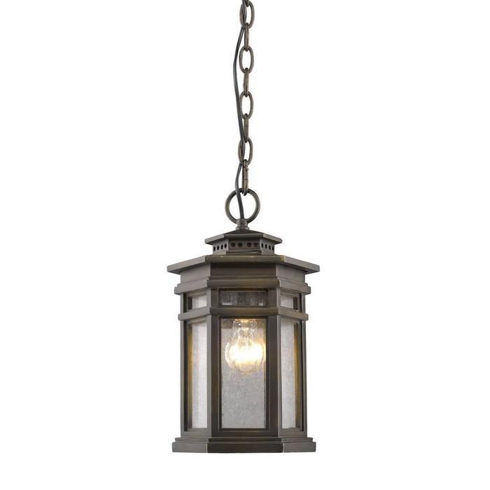 Светильник , E27, 60 Вт, IP44, цвет коричневый