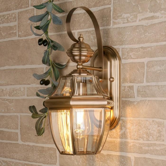 Светильник GL 1032D, IP33, 60 Вт, Е27, цвет медь