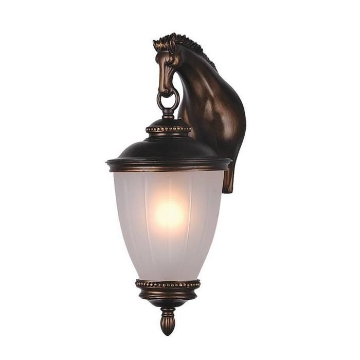 """Светильник """"Лошадь"""", E27, 60 Вт, IP44, цвет коричневый"""