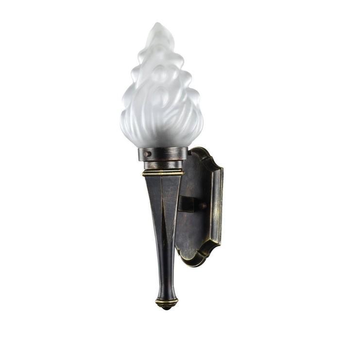 Светильник 1803-1W, E27, 60 Вт, IP44, цвет черный