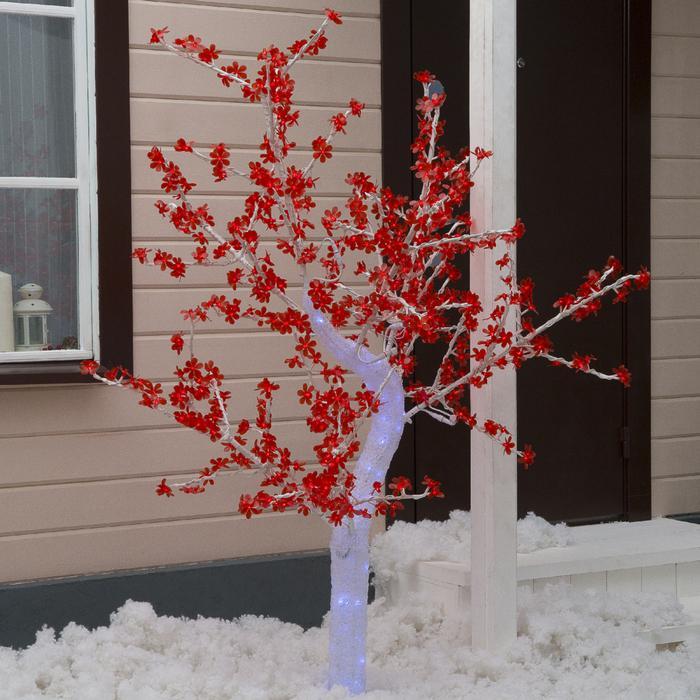 """Дерево светодиодное улич. 1,8 м. """"Акриловое"""" 768Led, 46W, 220V Красный"""