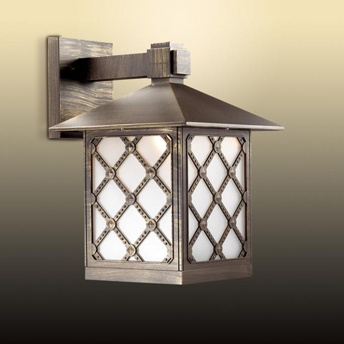 Уличный Светильник большой ANGER, 1x60Вт, E27, IP44, цвет коричневый