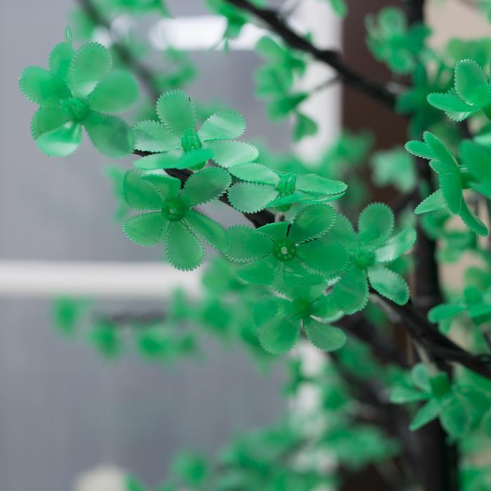 "Дерево светодиодное улич. 2 м. ""Баугиния"" 864Led, 52W, 220V Зеленый"