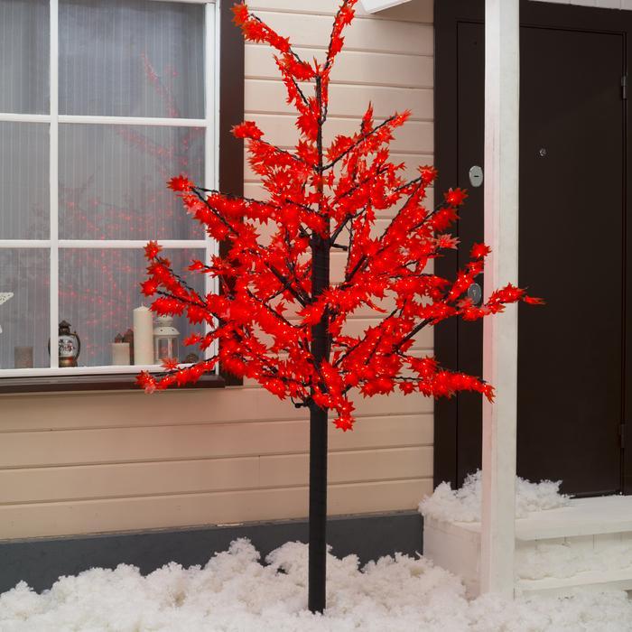 """Дерево светодиодное улич. 2 м. """"Клён"""" 900Led, 54W, 220V Красный"""