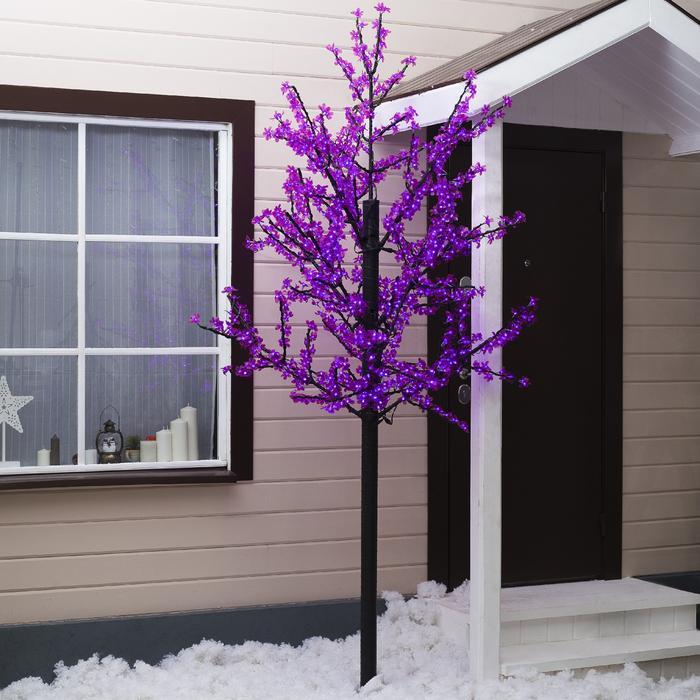"""Дерево светодиодное улич. 2,5 м. """"Баугиния"""" 1152Led, 70W, 220V Фиолетовый"""