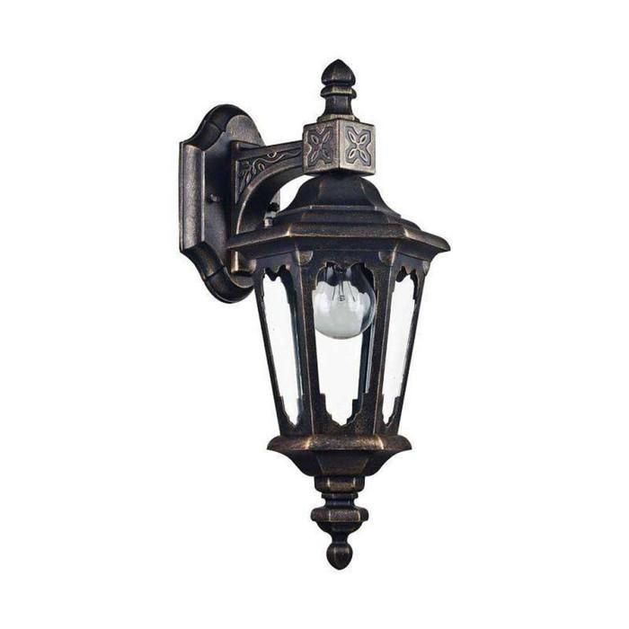 Светильник Oxford, E27, 60 Вт, IP44, цвет бронза