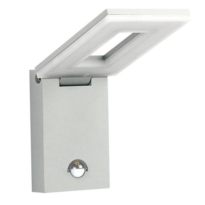 Светильник светодиодный 1825-1W, LED, 10 Вт, IP44, цвет серебро