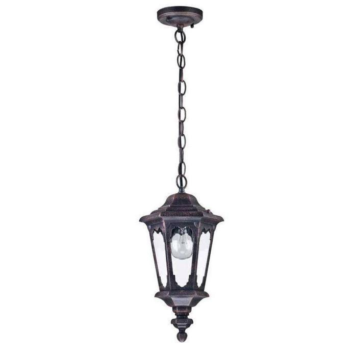 Светильник Oxford, E27, 60 Вт, IP44, цвет чёрный