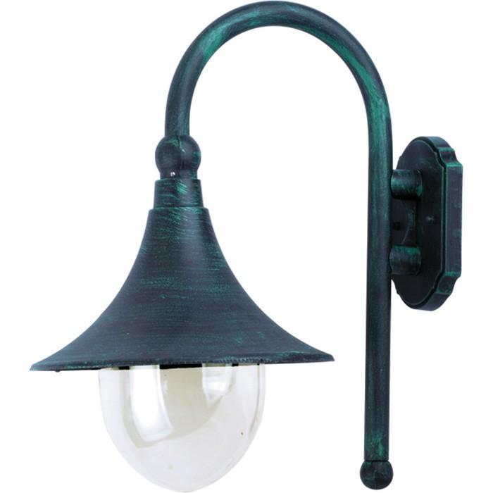 Светильник уличный MALAGA, 75Вт, E27, IP44, цвет медь