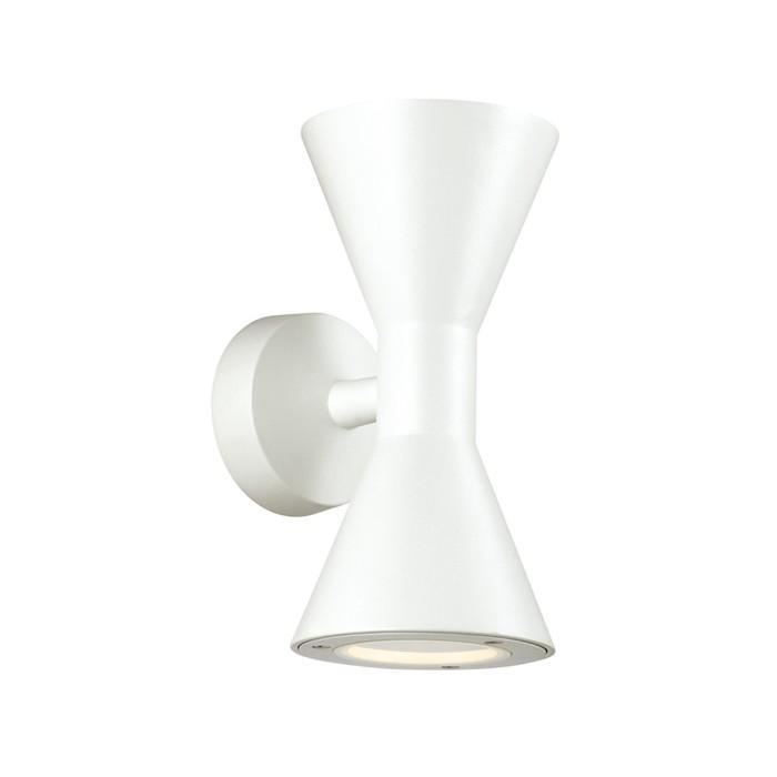 Уличный Светильник AXEN, 2x50Вт, GU10, IP65, цвет белый
