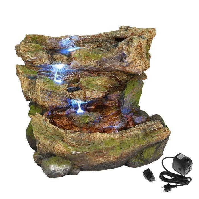 Фонтан скала камни 63х80х60 см (с подсветкой) Севастополь