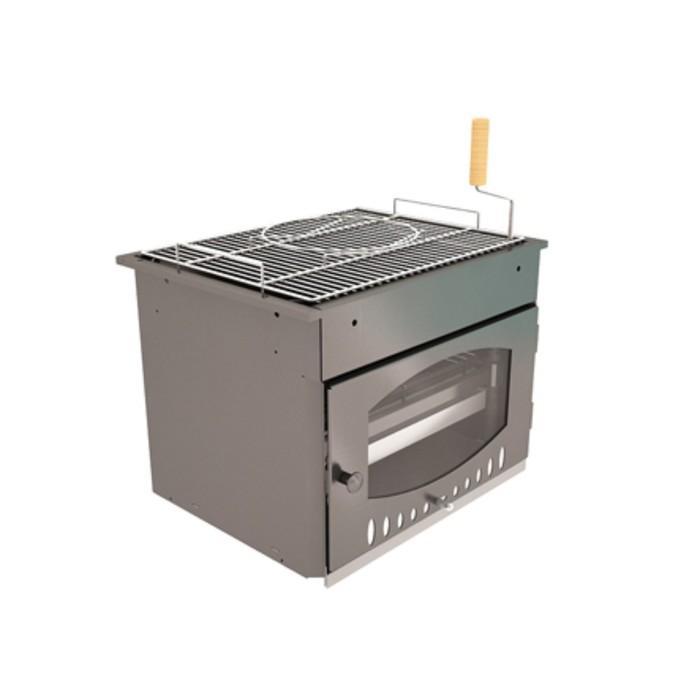 Топка гриля Suomi Grill Insert, решётка-гриль из нержавеющей стали, 62,5 х 52,5 х 50,4 см купить в Крыму