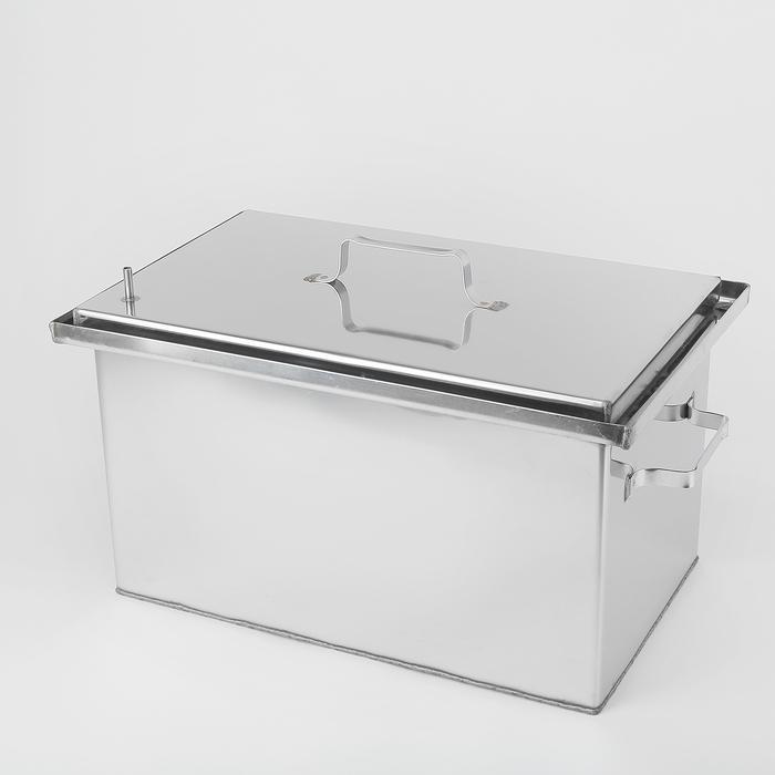 Коптильня 500х300х300, нержавеющая сталь, 1,5 мм в Симферополе