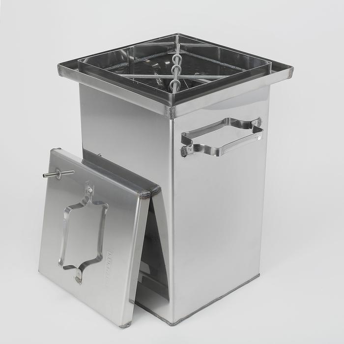 Коптильня 450х250х250, нерж.сталь,  1,5мм в Симферополе
