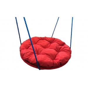 """Купить Качели детские """"Гнездо"""" 900 мм с подушкой в оплатке bk"""