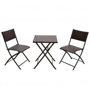 Купить Набор складной мебели «Романтика» (квадратный стол) bk