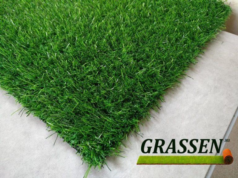 трава для декора искусственная зеленая