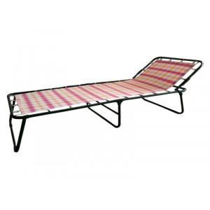 Купить Раскладная кровать Надин (жесткая) текстилайн bk