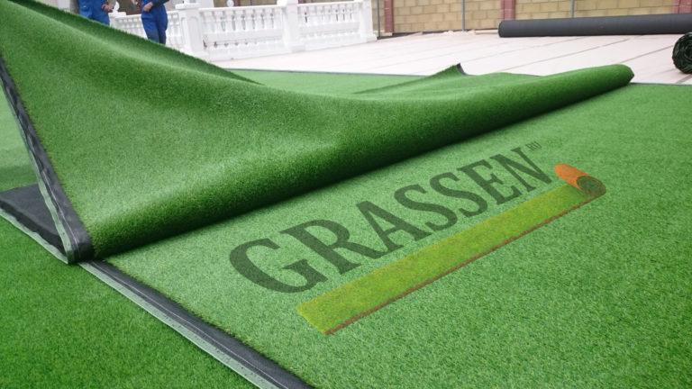 Укладка травый Грассен