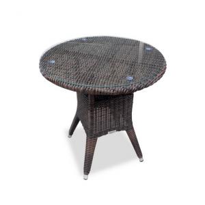 Купить Плетеный стол WARSAW темно-серый bk
